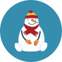 Regular Socks Snowman