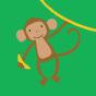 Șosete Vesele sub Gleznă Maimuțe