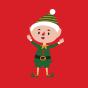 Wesołe szorty męskie Elfy