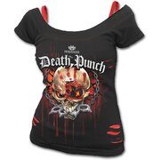 Dámské tričko 2v1 Five Finger Death Punch