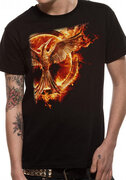 Triko Hunger Games - Mockingjay pin flame