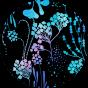 Veselé športové legíny Podmorské kvety