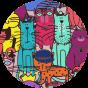 Veselé sportovní legíny Pestrobarevné kočky
