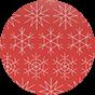 Oval Gift Box Christmas Mood