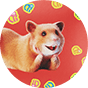 Wrapping paper Dedoles Hamsters