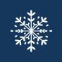 Veselé nadkolenky Sněhové vločky