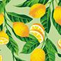 Veselé košilové šaty Citrony