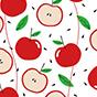 Lustige Flip-Flops mit Verzierung Fröhlicher Apfel