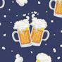 Lustiger Fischerhut Kaltes Bier