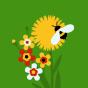 Veselé podkolenky Luční květiny