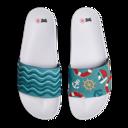 Veselé plážové pantofle a žabky