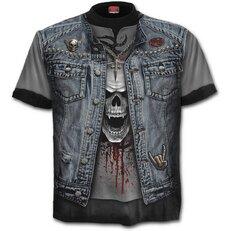 T-Shirt Jeansweste