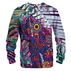 Sweatshirt Painted Chameleon