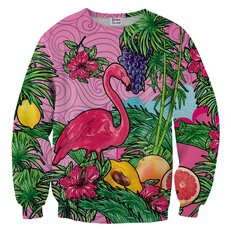 Sweatshirt Pink Flamingo