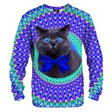 Sweatshirt Crazy Cat