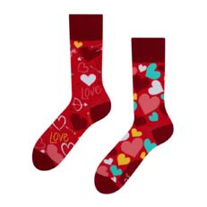 Lustige Socken Herzchen