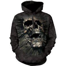 Sweatshirt mit Kapuze Schädel