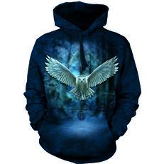 Sweatshirt mit Kapuze Magische Eule