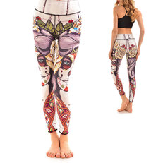 Ladies' Elastic Sport Leggings - Dead Fairy