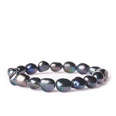 Armband Dunkle Flussperlen - Stein der Schönheit
