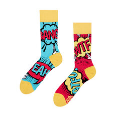Lustige Socken Comic