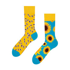 Lustige Socken Sonnenblume