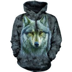 Kapucnis pulóver Átkozott farkas