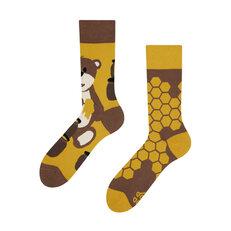 Lustige Socken Bär und Honig