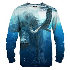 Mikina bez kapuce Slon pod vodou