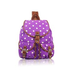 Rucsac tip sac Purple dot