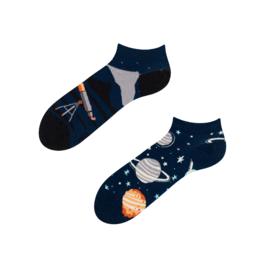 Veselé kotníkové ponožky Kosmos