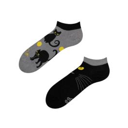 Veselé kotníkové ponožky Kočky
