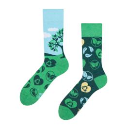 Lustige Öko-Socken Pflanzen Sie einen Baum