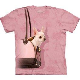 Tričko Čivava v kabelke - detské