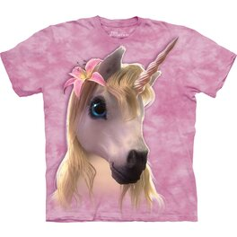 Tričko Ružový jednorožec - detské