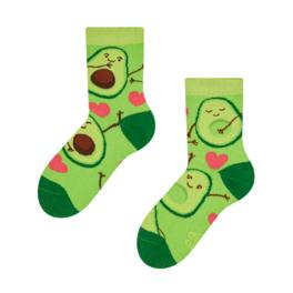 Detské veselé ponožky Avokádová láska
