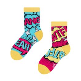 Detské veselé ponožky Komiks