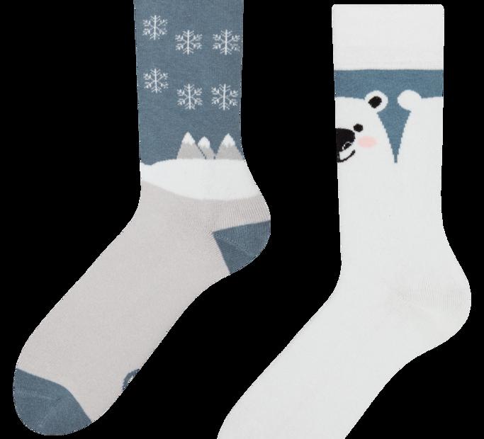 Good Mood Warm Socks Polar Bear