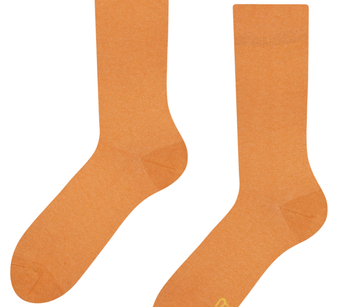 Socks from recycled cotton Amber