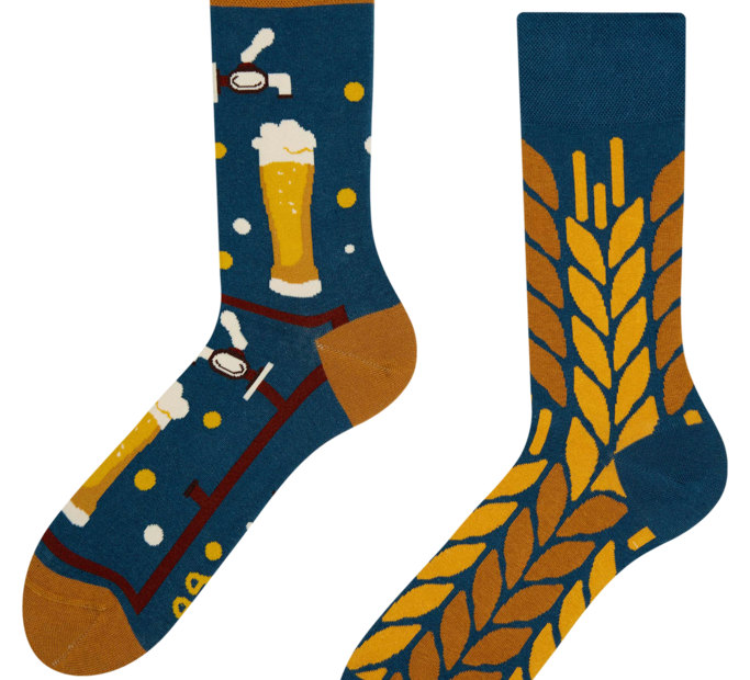 Good Mood Socks - Beer Time