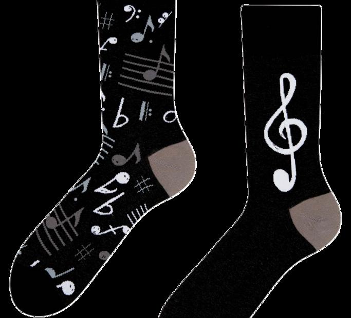 Chaussettes Joyeuses Musique
