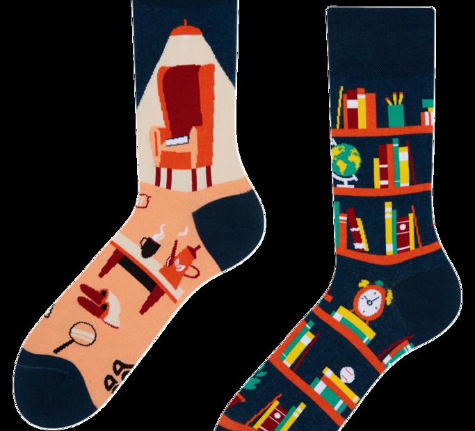 Good Mood Socks - Library