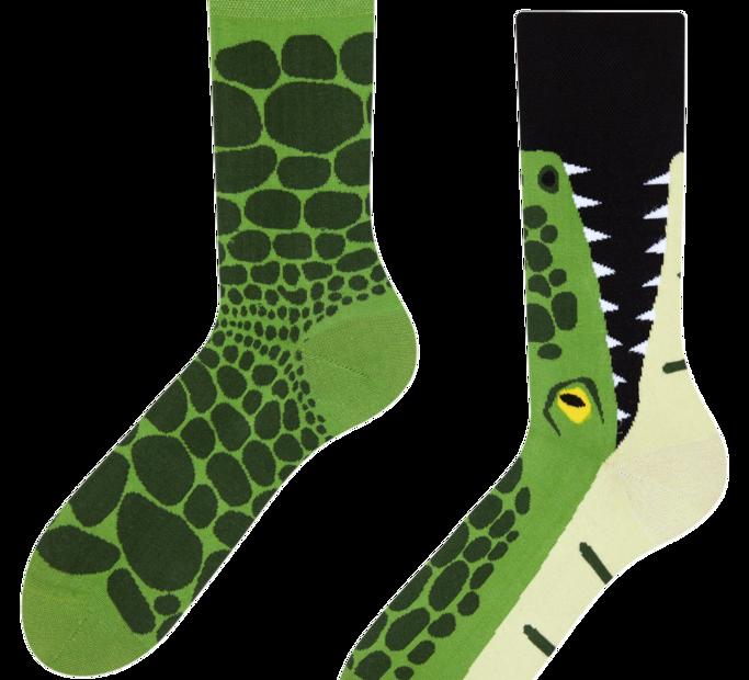 Good Mood Socks - Crocodile