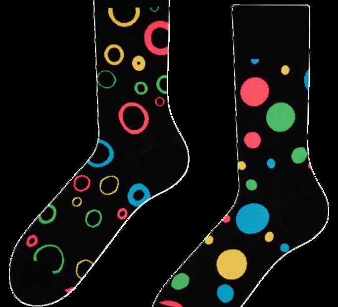 Good Mood Socks - Neon dots
