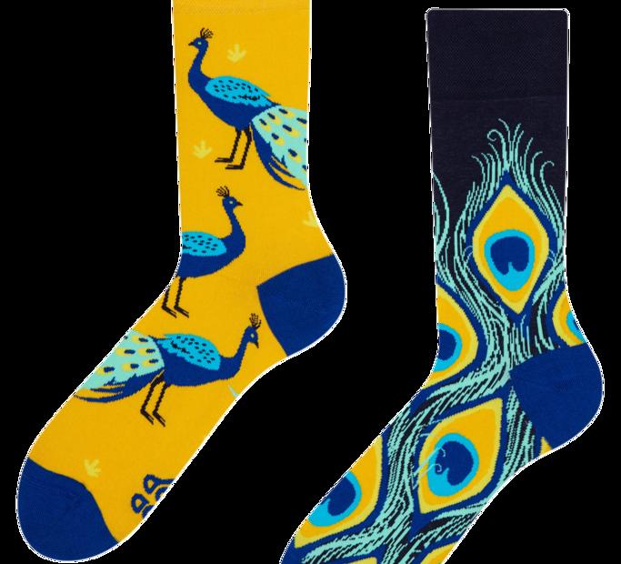 Good Mood Socks - Peacock