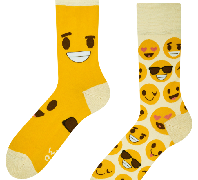 Good Mood Socks - Smileys