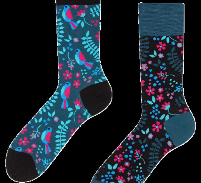 Good Mood Socks - Secret garden