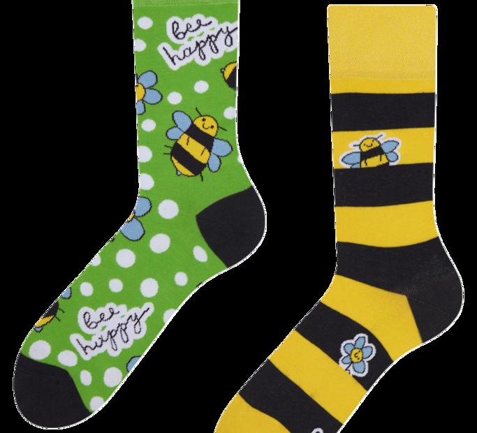 Good Mood Socks Bee Happy