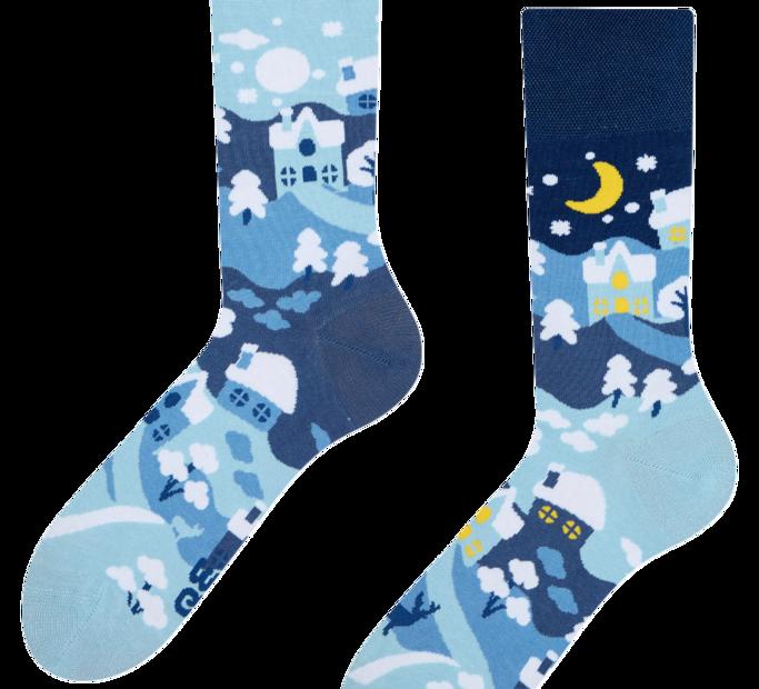 Good Mood Socks Winter Country