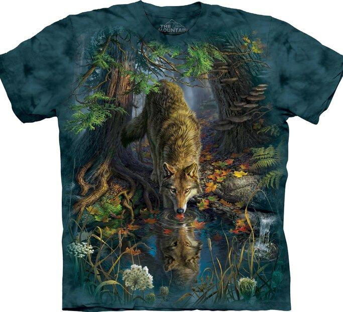 T-shirt Thirsty Wolf
